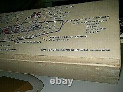 Vintage 1962 Remco Barracuda Submarine and box