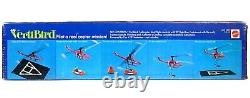 Vintage 1971 Mattel VertiBird Helicopter Astronaut Rescue Mint in Sealed Box New