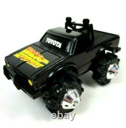 Vintage 1981 LJN Toys Rough Riders Toyota BACK TO THE FUTURE Black Truck