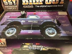 Vintage 1983 Playskool Bigfoot 4x4 Monster Truck SST With Box