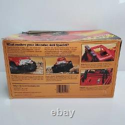 Vintage 1984 Schaper Stomper Monster 4x4 Chevy K-20 Red Winch 1044 HTF