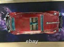 Vintage BC Bandai VW Volkswagen Beetle Tin Toy Japan Large Fully Working