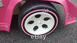 Vintage Barbie Lamborghini Power Wheels 1995 Powered Ride-On Car Vehicle Pink