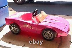 Vintage Barbie Power Wheels Corvette Model 85350