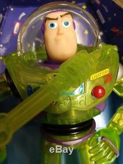 Vintage Buzz Lightyear in Rocket Box! 1998! 1st Generation Toy Story, Mattel
