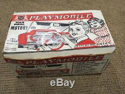 Vintage Deluxe Reading Battery Operated Toy Playmobile Dashboard with Box