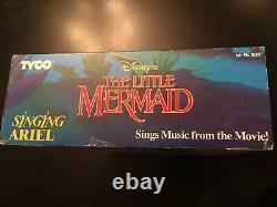 Vintage Disney The Little Mermaid Singing Ariel Doll Tyco Toy 1991 Sealed