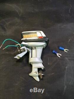 Vintage Evinrude Lark 1960's Toy Out-Board Engine Runs Perfect