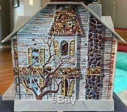 Vintage Haunted House Battery Operated Mystery Bank Brumberger Disney 1960's