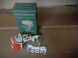 Vintage K&O 1958 40HP Scott-Atwater Battery Operated Outboard Motor