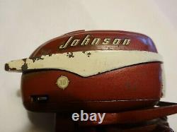 Vintage K&O Fleetline 1956 Johnson Toy Model Outboard Boat Motor