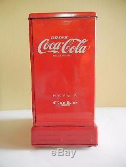 Vintage Marx Linemar Coca Cola Dispenser Bank withOriginal Box