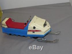 Vintage Normatt POLARIS Mustang Snowmobile Battery Operated Toy in Box