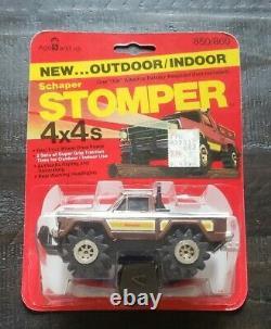 Vintage Schaper Stomper Brown Jeep Honcho Truck 1980 10 Back Sealed New Rare