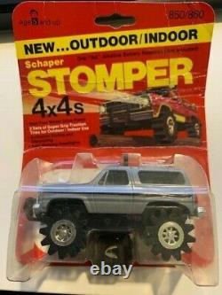 Vintage Schaper Stomper Outdoor/Indoor 4X4 Toy Truck Chevy Blazer New Sealed