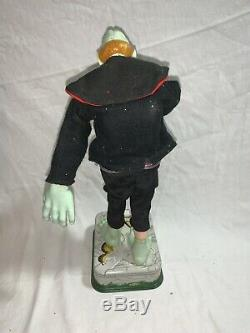 Vintage Tin Rosko Battery Operated Frankenstein Monster 1960s Japan