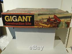 Vintage battery operated Technofix Gigant Construction Site #315 with box (exc.)
