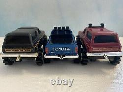 Vintage schaper stomper 4x4 Lot of 9 Stompers And Accessories Working Tires Case