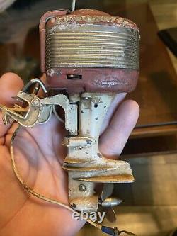 Vintage toy MERCURY boat outboard motor, RARE! Parts Or Repair