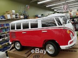 Volkswagen 12v Battery Powered Ride-on T1 Camper Van