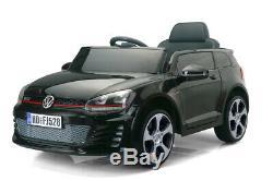 Volkswagen Licensed 12V Electric Kids Ride Car RC Remote RED WHITE BLACK 2MOTORS