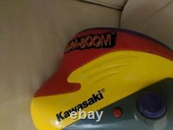 Vtg 1998 Kawasaki SAX-A-BOOM Toy Saxophone JACK BLACK Tenacious D WORKS no strap