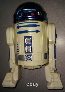 WORKING Palitoy Star Wars 1977 TALKING R2-D2 Battery Operated Tested UK's Kenner