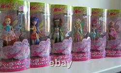 Winx Doll Flora Enchantix Transformation Fairy Princess Magic Dust Glitter Toy